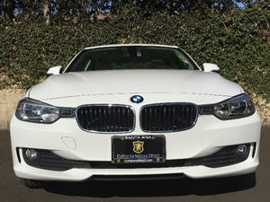 2015 BMW 3 Series 320i Carfax 1-Owner  White  We are not responsible for typographical errors