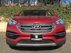 2017 Hyundai Santa Fe Sport 24L Carfax 1-Owner - No AccidentsDamage Reported  Serrano Red  W