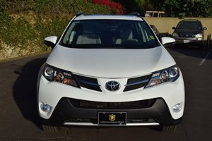 2015 Toyota RAV4 XLE Carfax 1-Owner - No AccidentsDamage Reported  Super White  We are not re