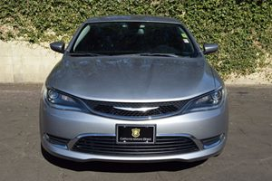 2015 Chrysler 200 Limited Carfax 1-Owner - No AccidentsDamage Reported  Gray  We are not resp