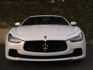 2016 Maserati Ghibli S Carfax 1-Owner - No AccidentsDamage Reported  White  We are not respon