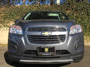 2015 Chevrolet Trax LT Carfax 1-Owner - No AccidentsDamage Reported  Gray  We are not respons