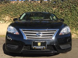 2015 Nissan Sentra SV Carfax Report - No AccidentsDamage Reported  Super Black  We are not re