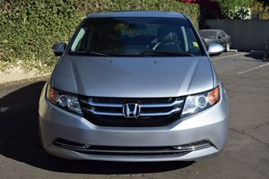 2016 Honda Odyssey EX-L Carfax 1-Owner - No AccidentsDamage Reported  Lunar Silver Metallic