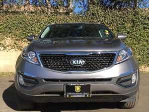 2016 Kia Sportage EX Carfax 1-Owner - No AccidentsDamage Reported  Mineral Silver  We are not