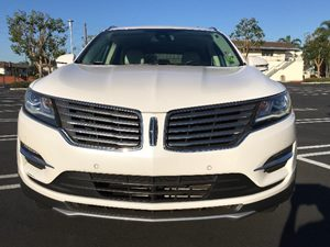 2015 Lincoln MKC Base Carfax 1-Owner - No AccidentsDamage Reported  White Platinum Metallic Tr