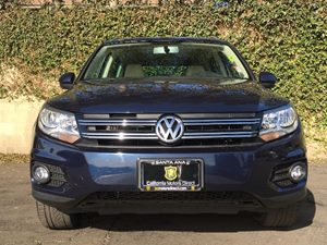 2014 Volkswagen Tiguan SEL Carfax 1-Owner - No AccidentsDamage Reported  Night Blue Metallic