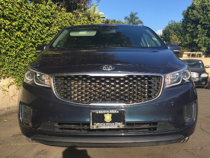 2015 Kia Sedona LX  Deep Formal Blue All advertised prices exclude government fees and taxes a