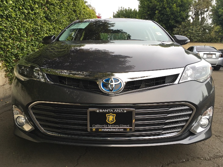 2013 Toyota Avalon Hybrid Limited  Magnetic Gray Metallic All advertised prices exclude governm