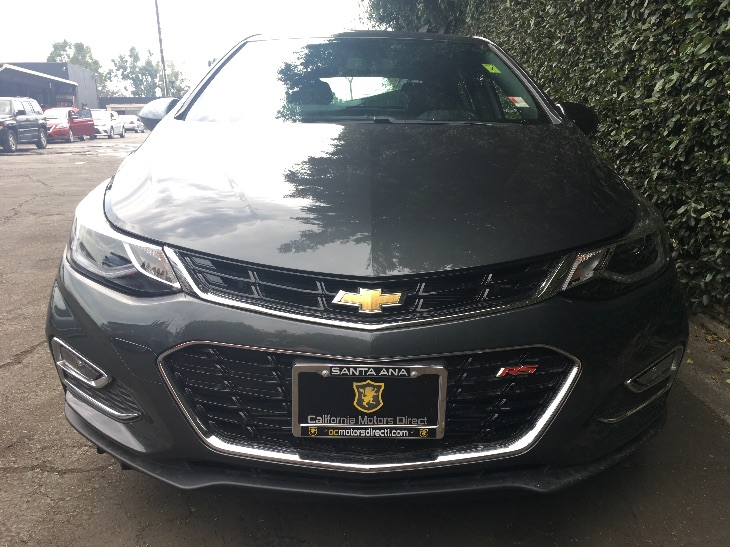 2017 Chevrolet Cruze LT Auto  Nightfall Gray Metallic All advertised prices exclude government