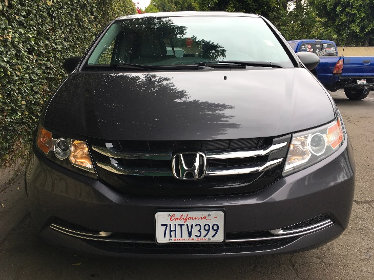 2015 Honda Odyssey LX  Gray All advertised prices exclude government fees and taxes any financ