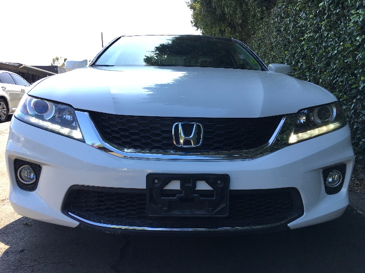 2014 Honda Accord Coupe EX-L V6 wNavi  White Orchid Pearl All advertised prices exclude govern