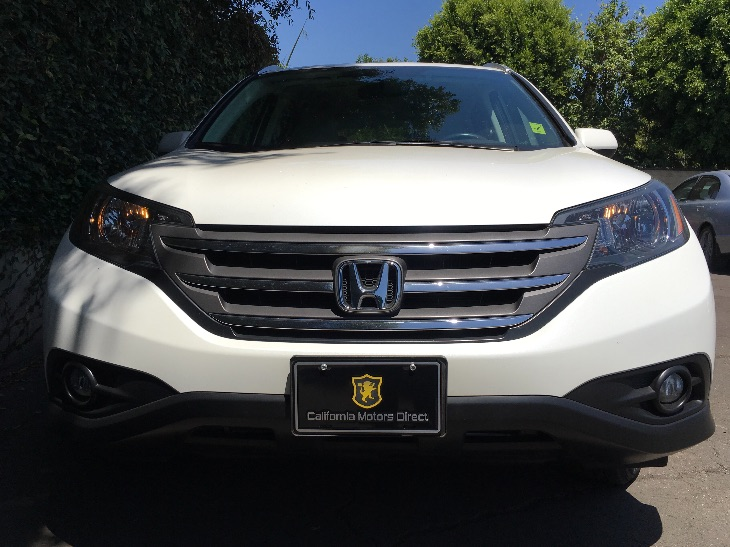 2012 Honda CR-V EX-L  White Diamond Pearl All advertised prices exclude government fees and tax