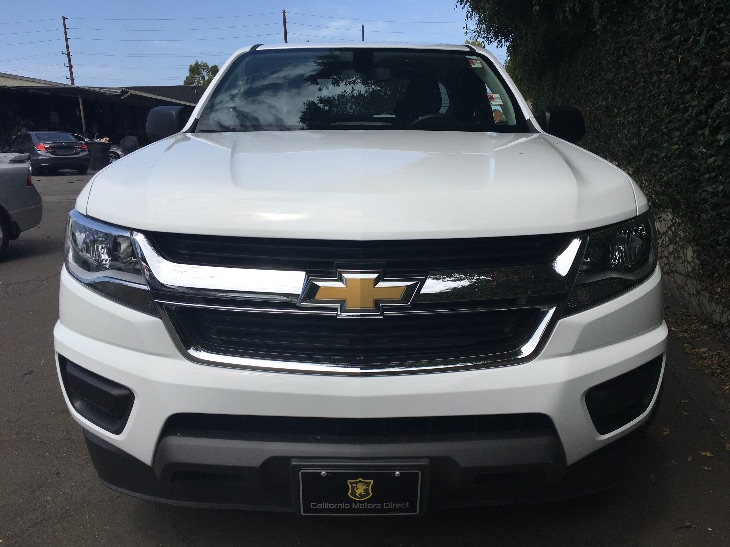2015 Chevrolet Colorado Work Truck Engine 36L Sidi Dohc V6 Vvt Gvwr 5700 Lbs 2585 Kg Rear