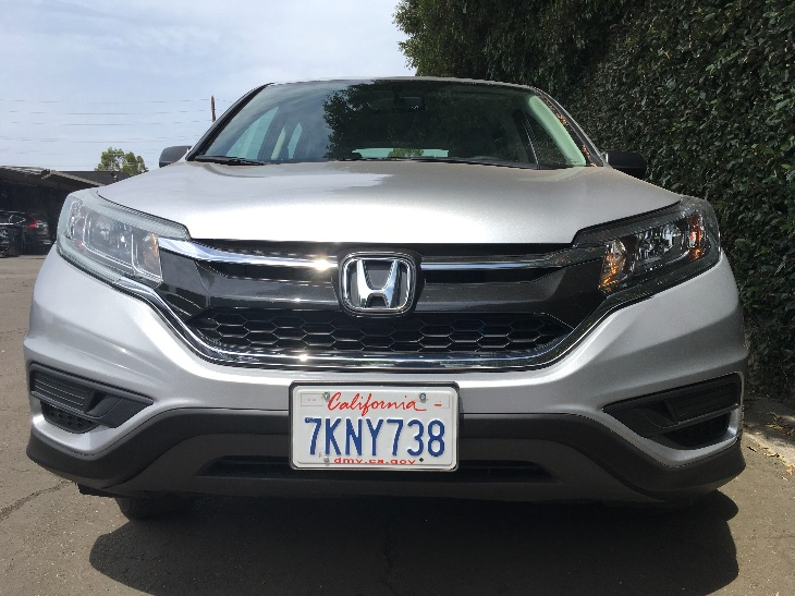 2015 Honda CR-V LX  Alabaster Silver Metallic All advertised prices exclude government fees and