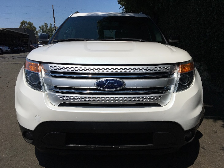 2015 Ford Explorer XLT California Emissions System White All advertised prices exclude governme