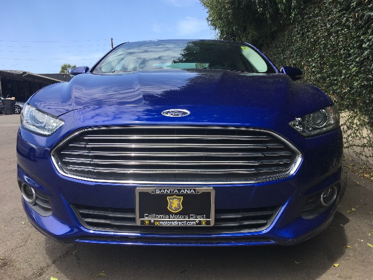 2016 Ford Fusion SE Engine 15L Ecoboost Deep Impact Blue All advertised prices exclude govern