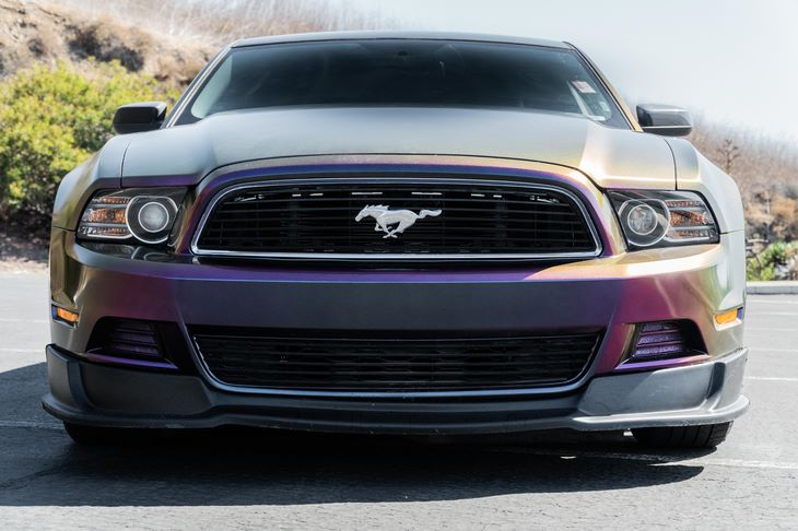 2013 Ford Mustang V6 Premium 37L 4V Ti-Vct V6 Engine Purple All advertised prices exclude gove
