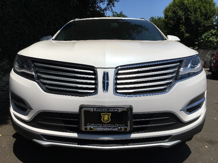 2016 Lincoln MKC Select Engine 20L Ecoboost White Platinum Metallic Tri-Coat All advertised p