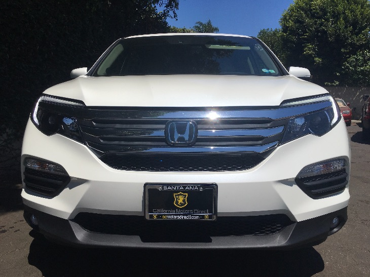 2016 Honda Pilot EX-L wHonda Sensing  White Diamond Pearl All advertised prices exclude govern