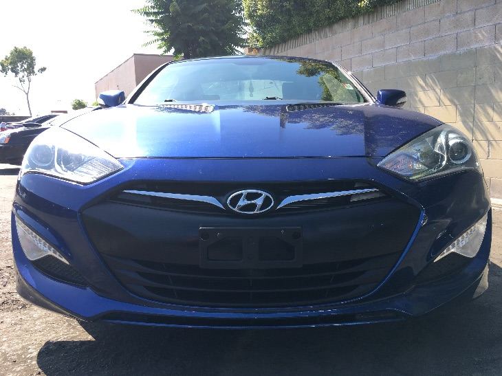 2015 Hyundai Genesis Coupe 38 R-Spec  Ibiza Blue All advertised prices exclude government fees