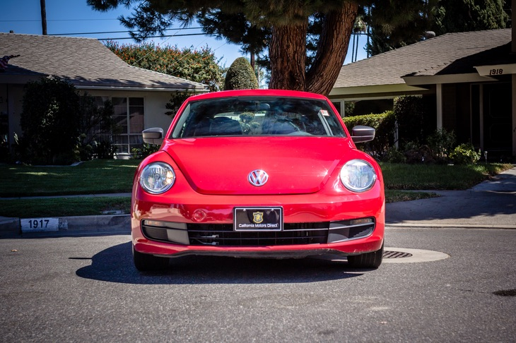 2015 VOLKSWAGEN BEETLE COUPE 1.8T CLASSIC PZEV