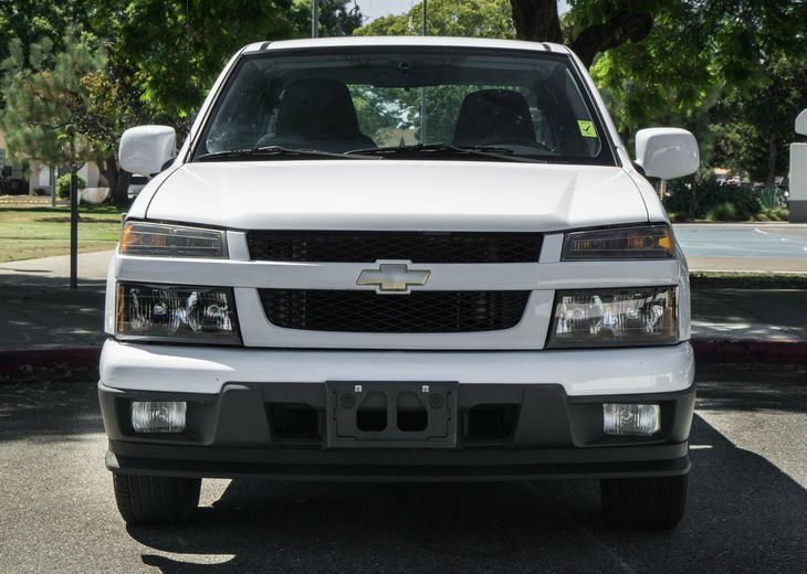 2009 Chevrolet Colorado Work Truck Engine 37L Dohc 5-Cylinder Sfi Summit White All advertised