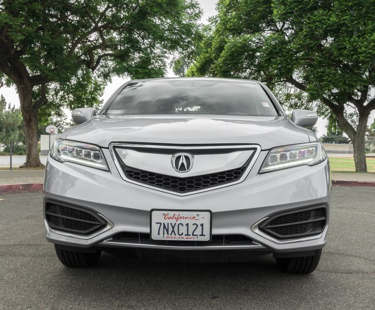 2016 Acura RDX wTech Convenience Variable Speed Intermittent Wipers Driver And Passenger Visor