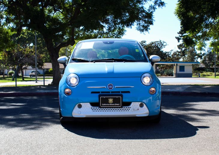 2015 FIAT 500e Base  Blue TAKE ADVANTAGE OF OUR PUBLIC WHOLESALE PRICING GOING ON RIGHT NOW