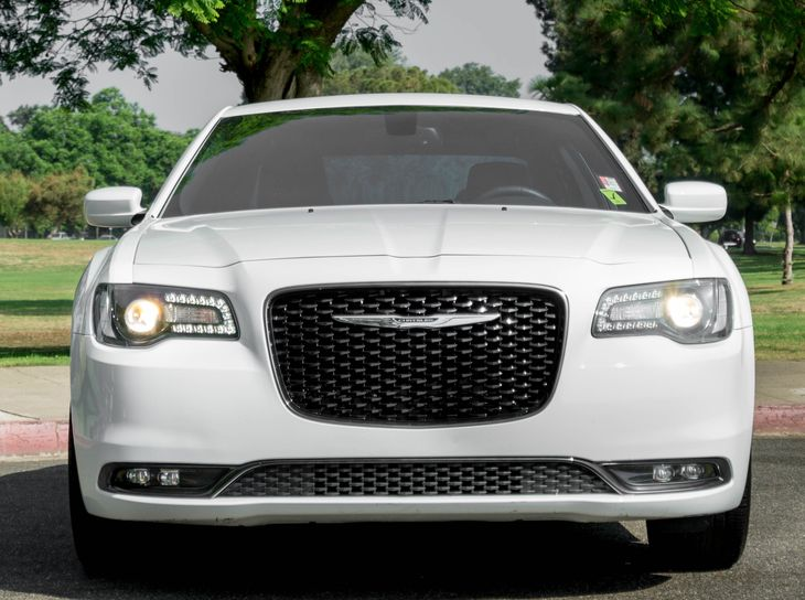 2016 Chrysler 300 S  Bright White Clearcoat All advertised prices exclude government fees and t