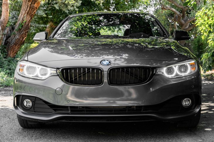 2015 BMW 4 Series 428i 4-Wheel Disc Brakes W4-Wheel Abs Front And Rear Vented Discs Brake Assis