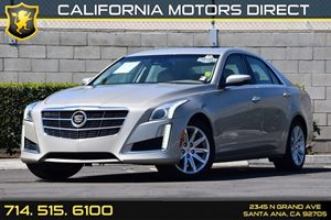 2014 Cadillac CTS Sedan Luxury RWD Carfax 1-Owner Adaptive Remote Start Air Conditioning  AC