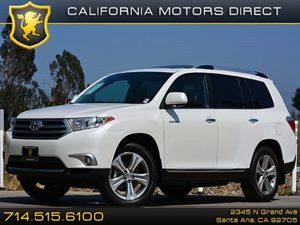 2013 Toyota Highlander Limited Carfax Report 19 5-Spoke Alloy Wheels Air Conditioning  AC A