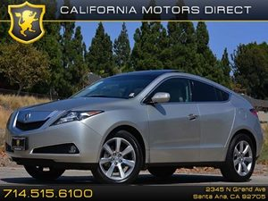 2012 Acura ZDX Tech Pkg Carfax 1-Owner - No Accidents  Damage Reported to CARFAX Air Conditionin