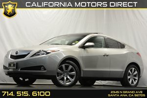 2012 Acura ZDX SH-AWD Tech Pkg Carfax 1-Owner - No Accidents  Damage Reported to CARFAX Air Cond