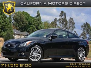 2013 Infiniti G37 Coupe Journey Carfax 1-Owner - No Accidents  Damage Reported to CARFAX H01 T