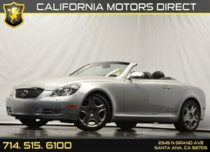 2008 Lexus SC 430  Carfax Report Air Conditioning  AC Audio  AmFm Stereo Audio  Premium So