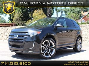 2013 Ford Edge Sport Carfax Report Voice-Activated Navigation System 22 Polished Aluminum Whee