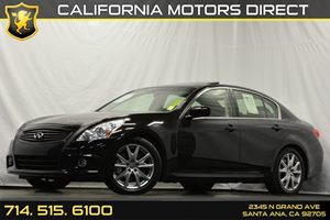 2012 Infiniti G37 Sedan Sport 6MT Carfax 1-Owner - No Accidents  Damage Reported to CARFAX Air C