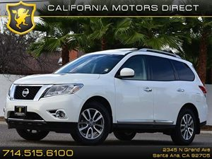 2013 Nissan Pathfinder SL Carfax 1-Owner 18 X 75 Alloy Wheels Air Conditioning  AC Air C