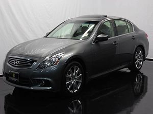 2013 Infiniti G37 Sedan Journey Carfax 1-Owner - No Accidents  Damage Reported to CARFAX  Gray