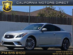 2012 Infiniti G37 Coupe Journey Carfax Report  Silver CLEAN TITLE 29991 Per Month - On Ap