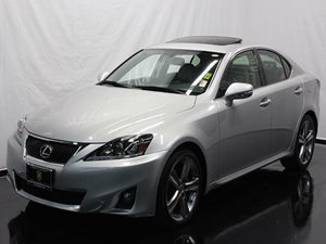 2011 Lexus IS 250  Carfax 1-Owner - No Accidents  Damage Reported to CARFAX  White CLEAN TITL