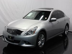 2013 Infiniti G37 Sedan Journey Carfax 1-Owner - No Accidents  Damage Reported to CARFAX  Silv