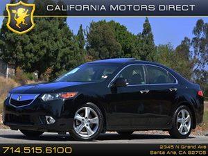 2013 Acura TSX Tech Pkg Carfax 1-Owner 17 X 75 Alloy Wheels Air Conditioning  AC Air Con