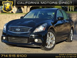 2012 Infiniti G37 Sedan Journey Carfax 1-Owner - No Accidents  Damage Reported to CARFAX H01 T