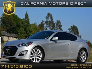 2014 Hyundai Genesis Coupe 20T Carfax 1-Owner - No Accidents  Damage Reported to CARFAX Air Con