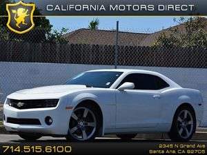2012 Chevrolet Camaro 1LT Carfax 1-Owner Air Conditioning  AC Audio  Auxiliary Audio Input A