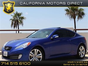 2012 Hyundai Genesis Coupe 38 R-Spec Carfax 1-Owner  Acqua Minerale Blue CLEAN TITLE 253