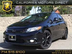 2012 Honda Civic Sdn Si Carfax 1-Owner - No Accidents  Damage Reported to CARFAX Air Conditionin